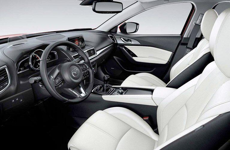 2017 Mazda3 cabin space
