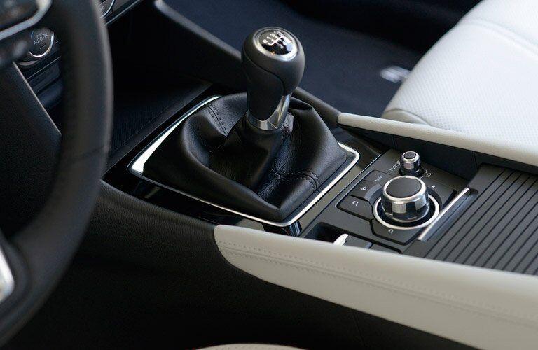2017 Mazda3 gear shift