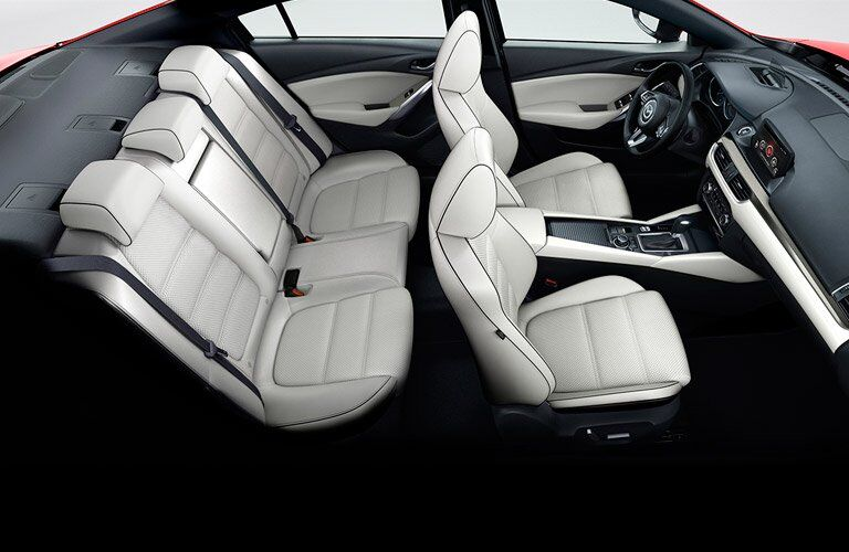 2017 Mazda6 leather seats