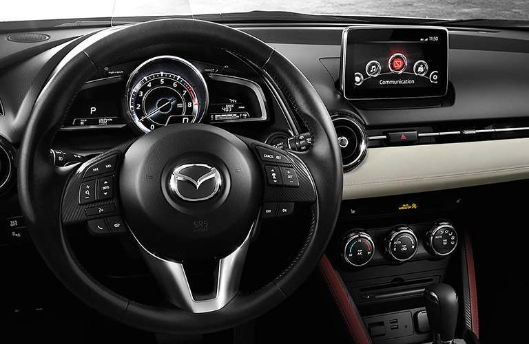 2018 Mazda CX-3 dashboard