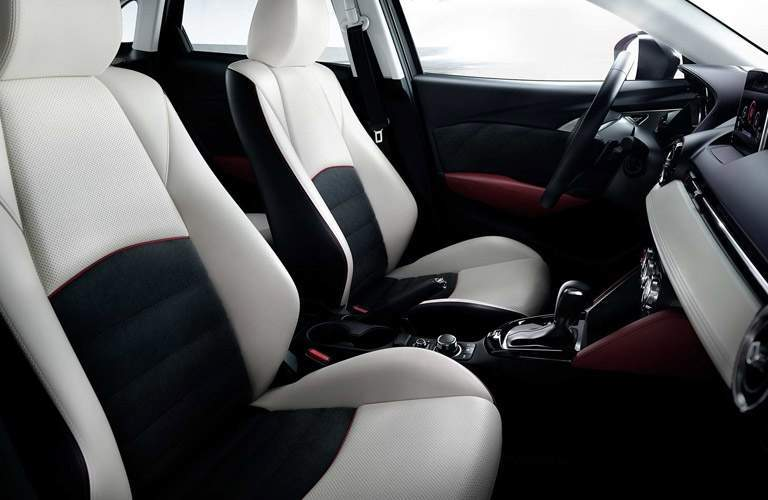 2018 Mazda CX-3 front seating