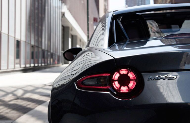 2017 Mazda MX-5 Miata RF taillight design