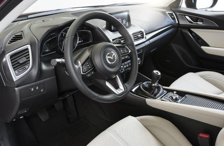 2017 Mazda3 dashboard