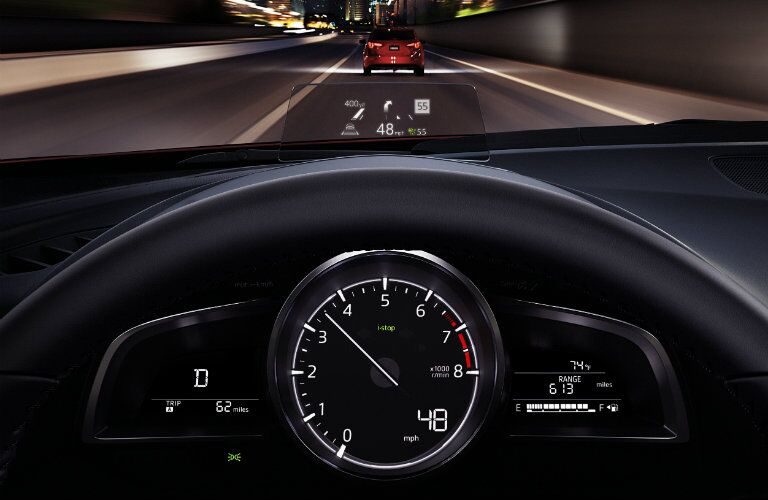2017 Mazda3 instrumentation