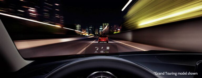 2017 mazda3 grand touring with active driving display