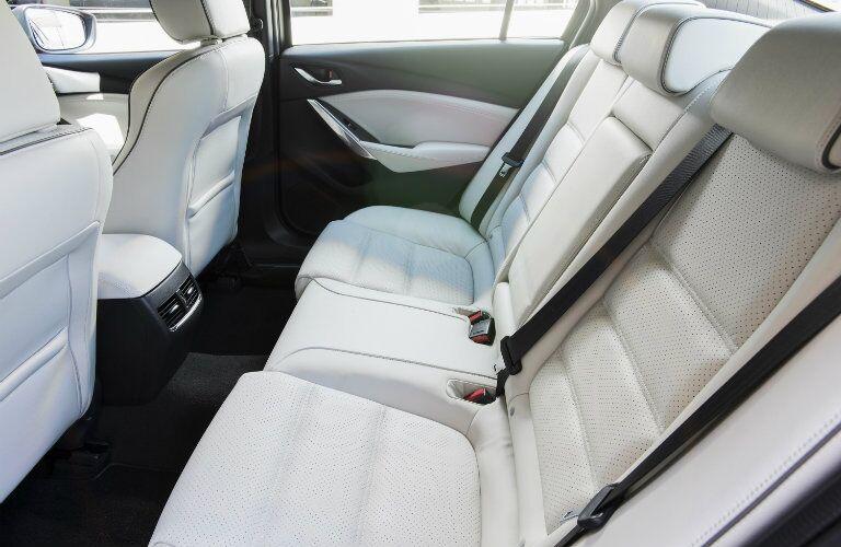 2017 mazda6 rear seat legroom