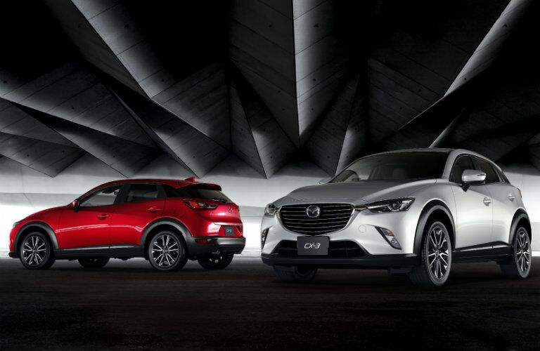 2017 mazda cx-3 in white or red paint colors