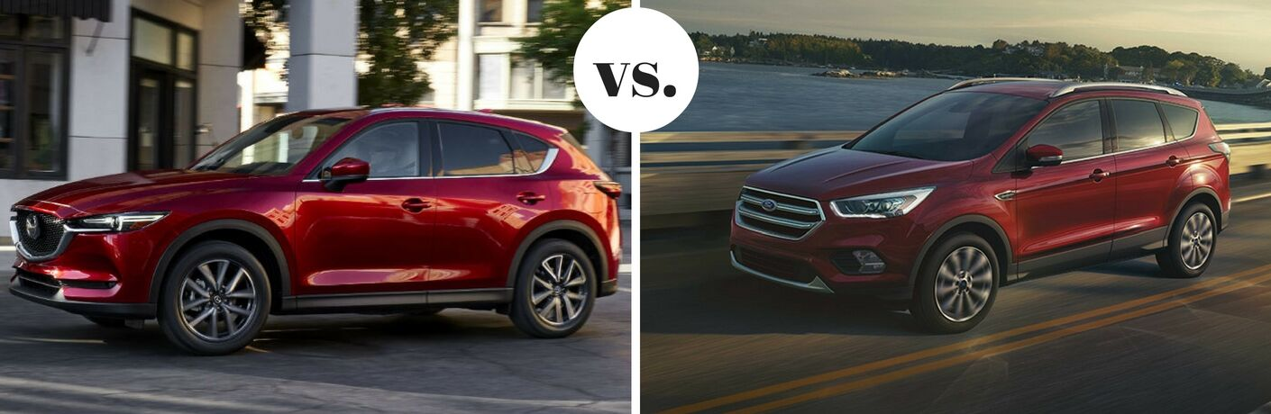 2017 Mazda CX-5 vs 2017 Ford Escape