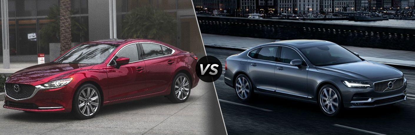 2018 Mazda6 vs 2019 Volvo S90