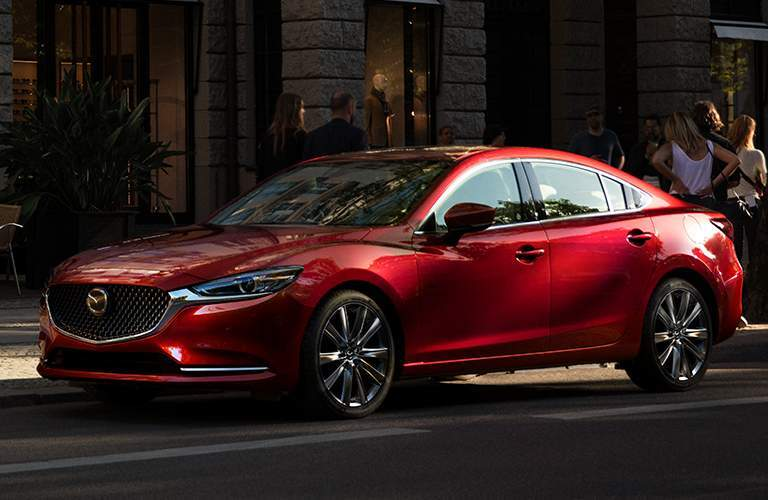 2018 mazda6 full view parked