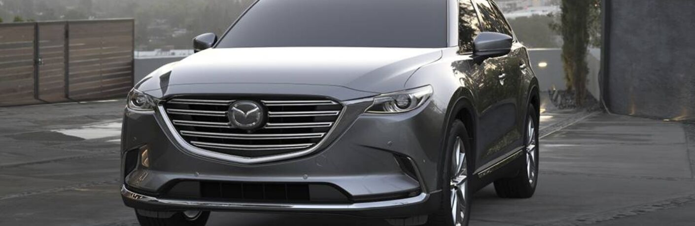 2019 mazda cx-9 front grille detail