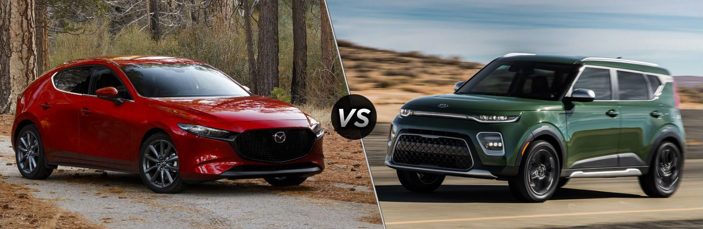 2019 Mazda3 Hatchback vs 2020 Kia Soul