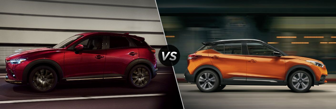 2019 Mazda CX-3 vs 2019 Nissan Kicks