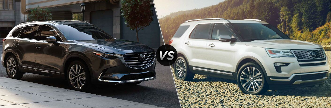 2019 Mazda CX-9 vs 2019 Ford Explorer