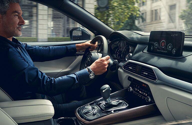 2020 Mazda CX-9 Interior Cabin Dashboard with Driver