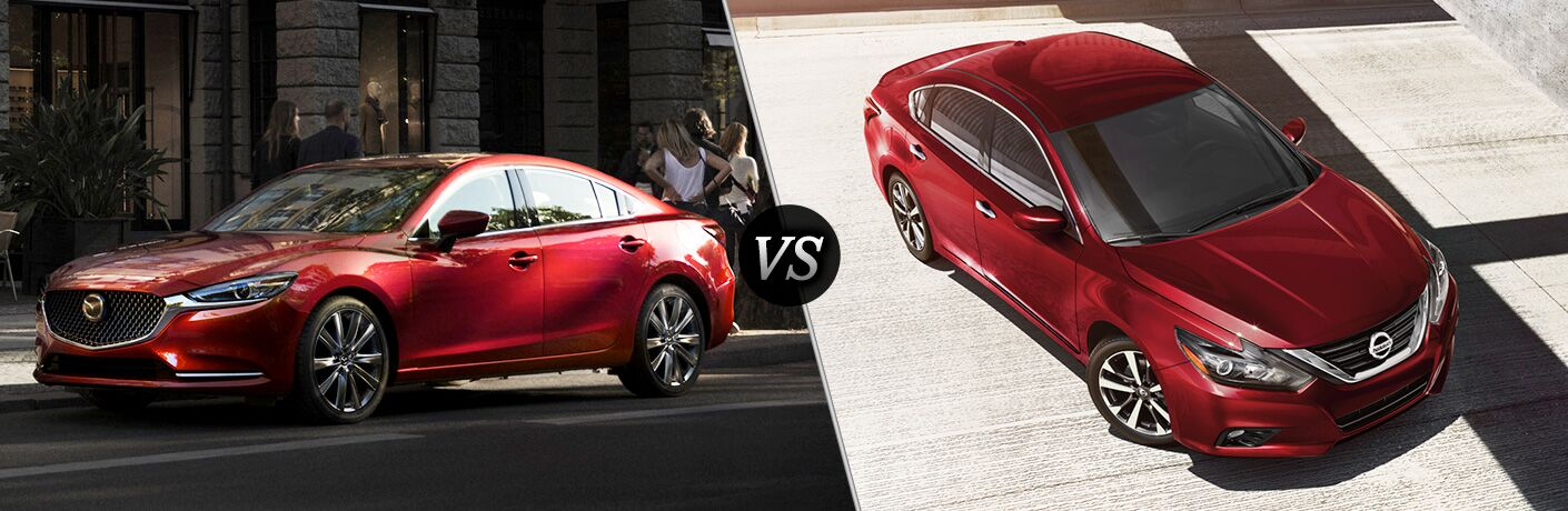 2018 Mazda6 vs 2018 Nissan Altima Featured Image