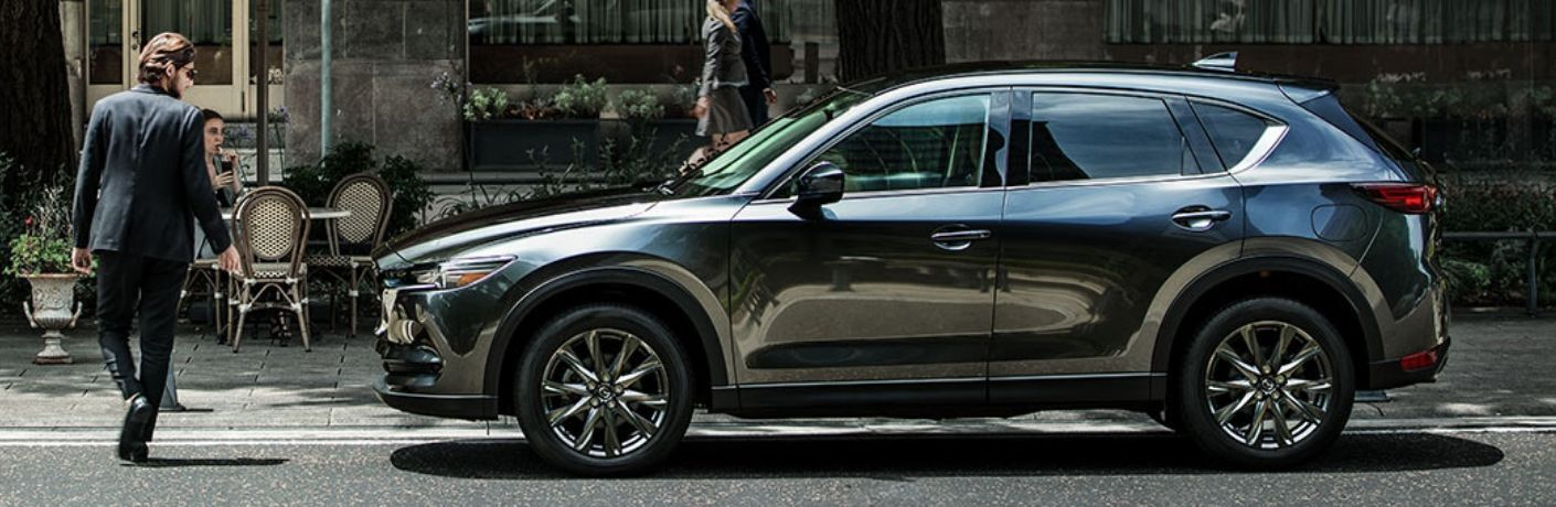 Exterior view of a 2019 Mazda CX-5 Signature Diesel