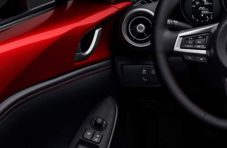mazda miata  interior, steering wheel