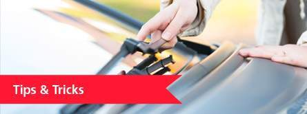 person holding windshield wiper, tips and tricks link
