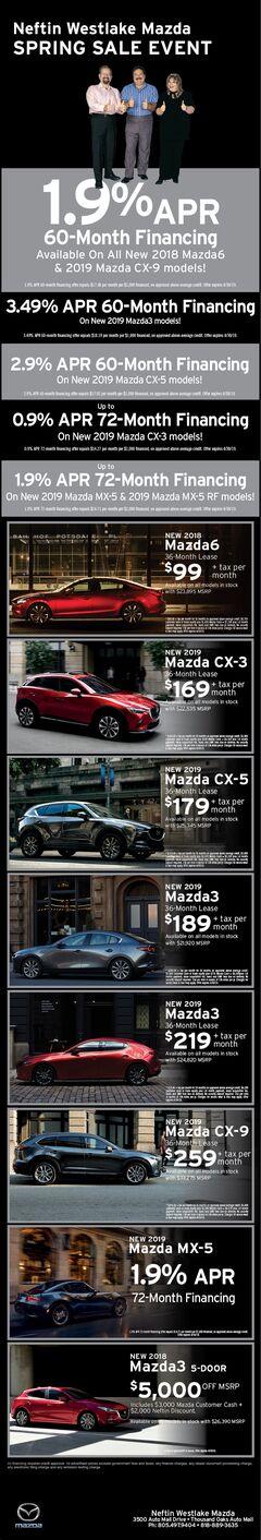 April '19 Mazda Print Ad