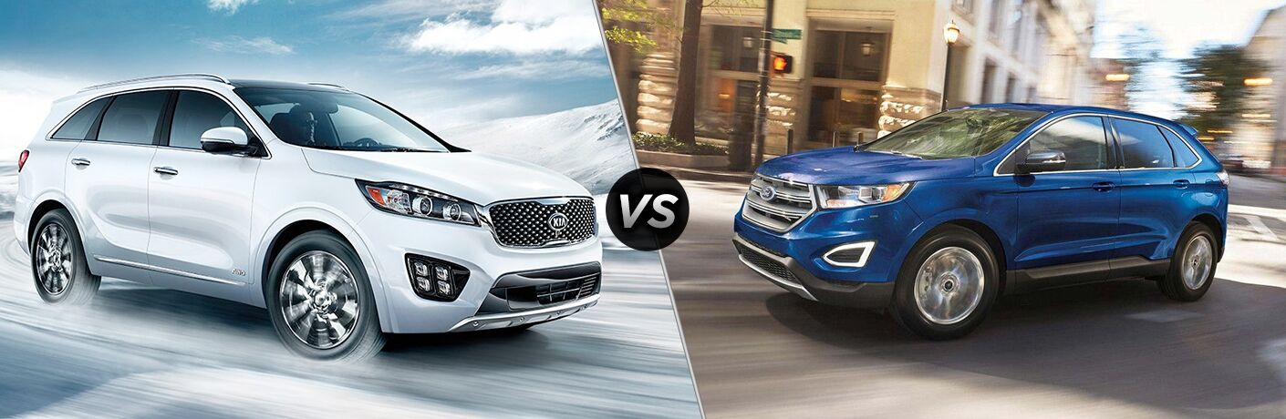 2018 Kia Sorento vs 2018 Ford Edge