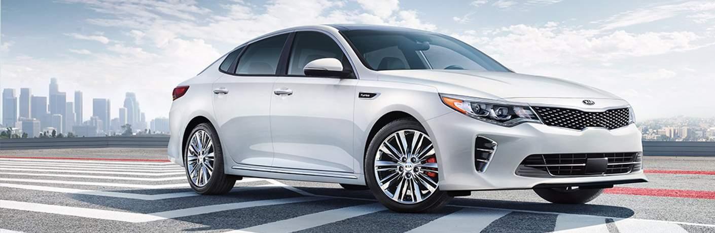 2018 Kia Optima parked.
