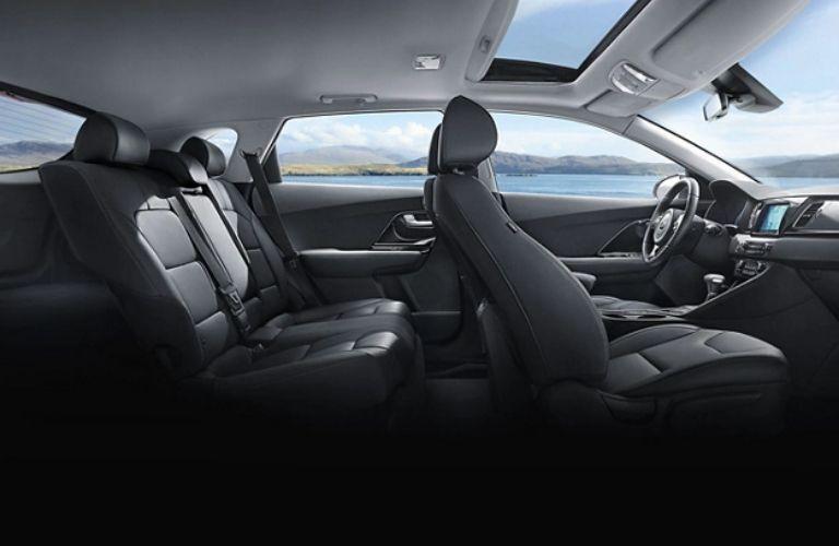 2019 Kia Niro seat side view