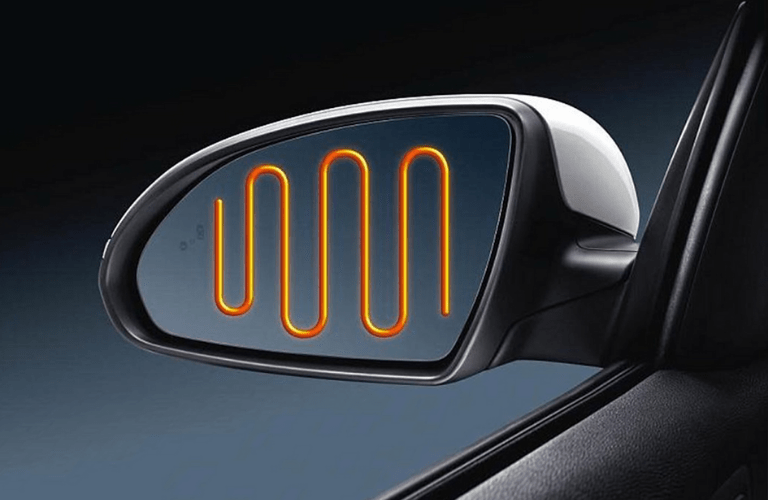 2020 Kia Optima side mirrors heated