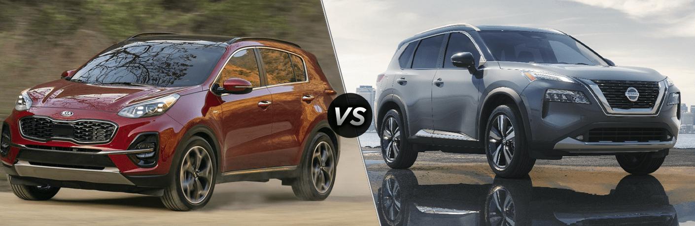2021 Kia Sportage vs 2021 Nissan Rogue