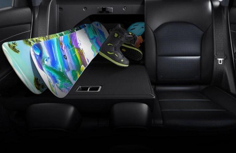 2021 Kia Forte Rear Seat View