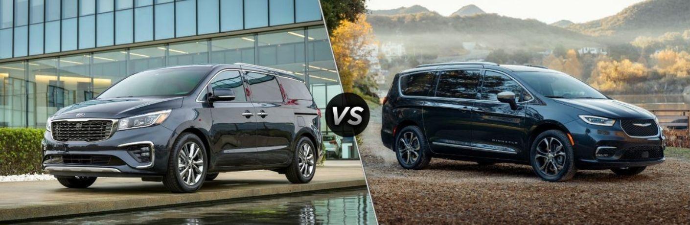 2021 Kia Sedona vs. 2021 Chrysler Pacifica