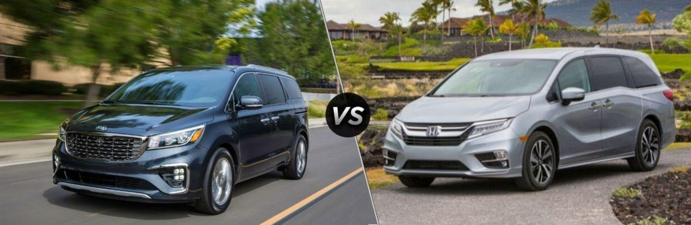 2021 Kia Sedona vs 2021 Honda Odyssey