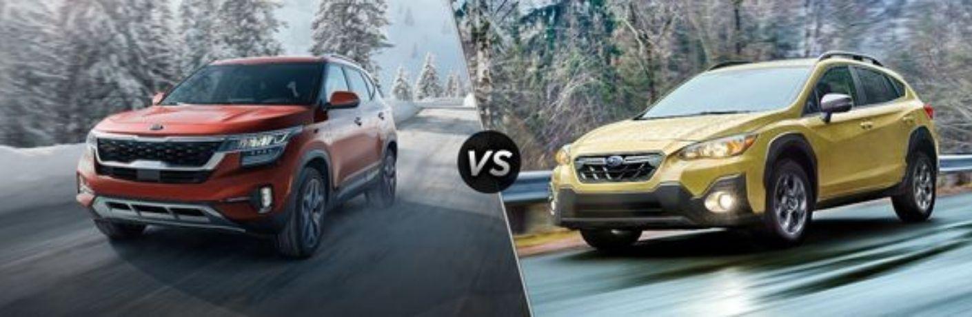 2021 Kia Seltos vs 2021 Subaru Crosstrek