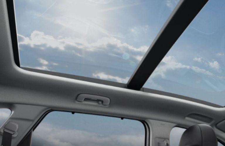 2021 Kia Sorento surnroof view