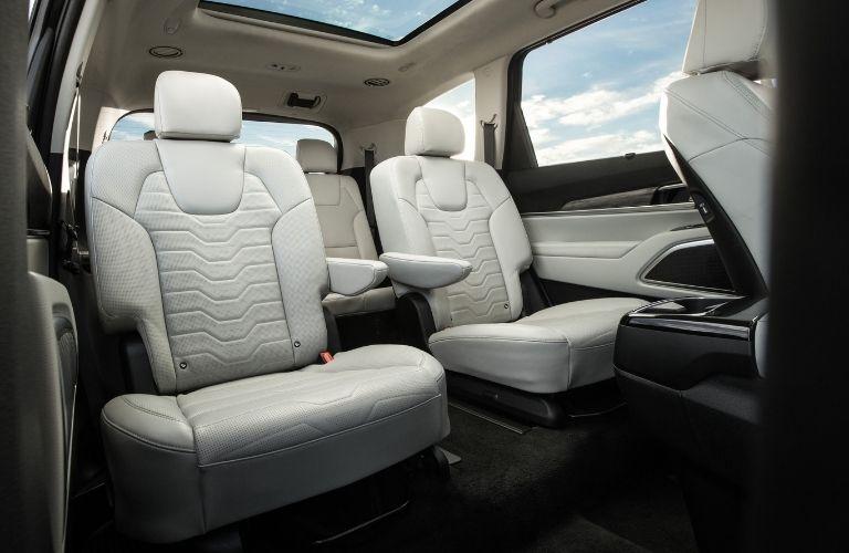 2022 Kia Telluride View of Second-Row Seats