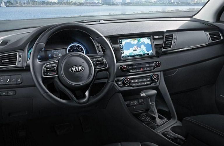 2019 Kia Niro dash and wheel view