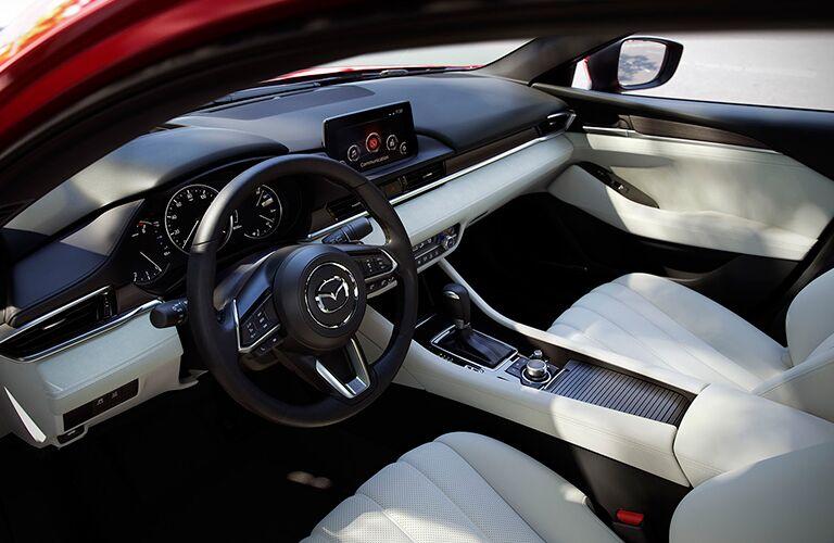 2018 Mazda6 interior cockpit