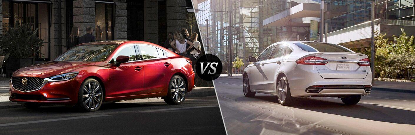 2018 Mazda6 vs 2018 Ford Fusion