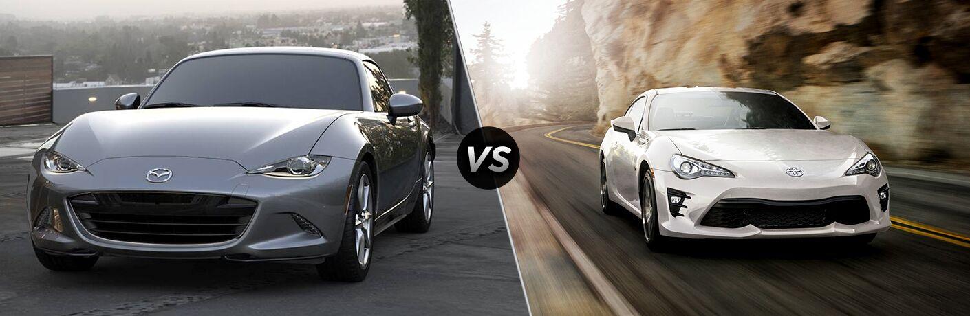 2019 Mazda MX-5 Miata RF vs 2019 Toyota 86