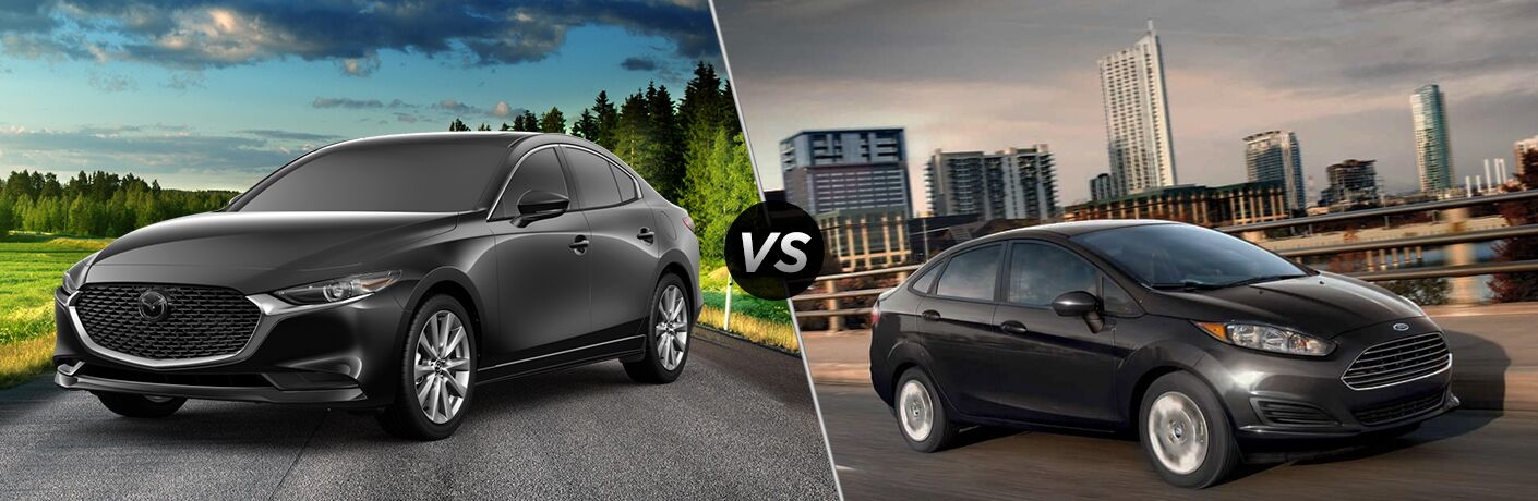 2019 Mazda3 Sedan vs 2019 Ford Fiesta