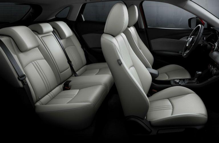 2019 Mazda CX-3 Interior Cabin Rear Seating Up