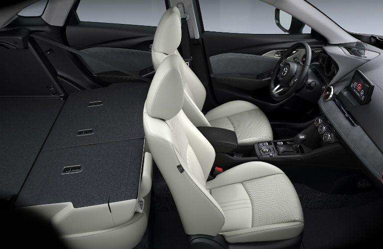 2019 Mazda CX-3 Interior Cabin Rear Seating Flat
