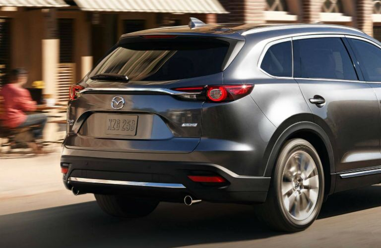 Gray 2019 Mazda CX-5 Rear Exterior