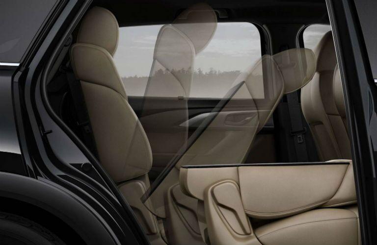 2019 Mazda CX-9 Interior Cabin Seating Folded Flat Simulation