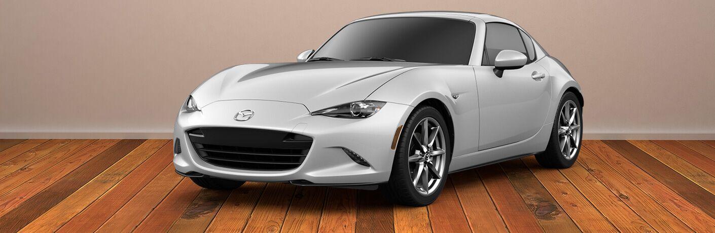2019 Mazda MX-5 Miata RF front and side profile