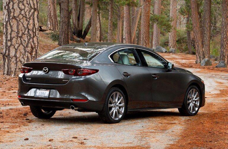 2019 Mazda3 Sedan in woods