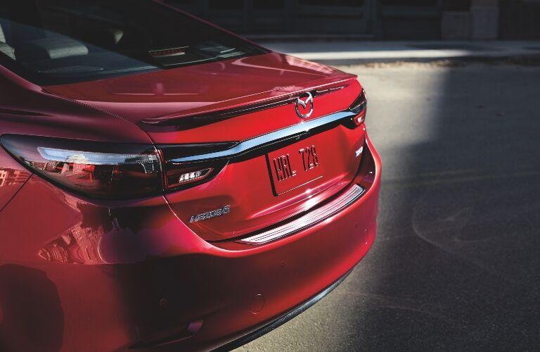 Rear Bumper of 2019 Mazda6