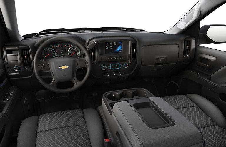 2018 Chevy Silverado 1500 Custom interior