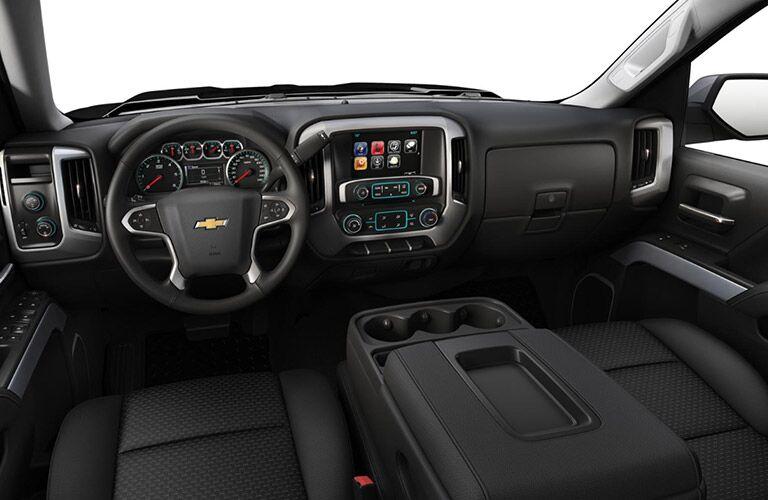2018 Chevy Silverado 1500 LT interior