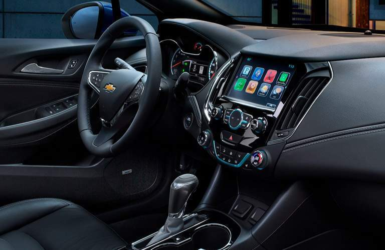 2018 Chevy Cruze interior dashboard and steering